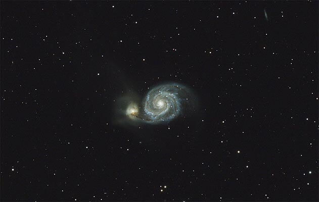 M 51, galaxie du tourbillon
